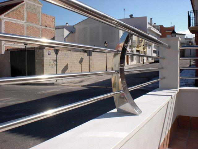 Barandillas de acero inoxidable solex alagon del rio - Barandilla de acero inoxidable ...